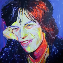 Young fresh Mick 100 x 100cm