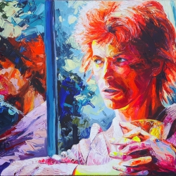The Young Bowie 160 x 120cm